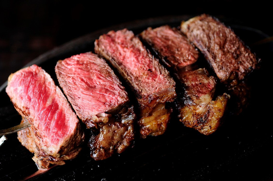 carne en su punto