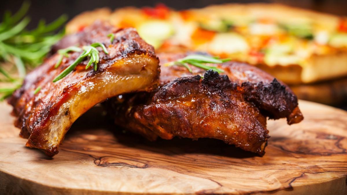 carne con adobo horno